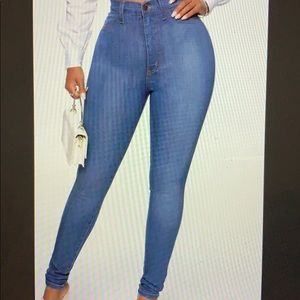Classic High Waist Skinny Jeans